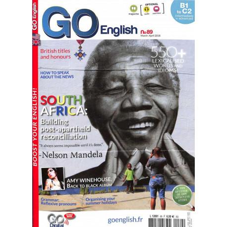 Go English Magazine, pour tous les amateurs de la langue de Shakespear