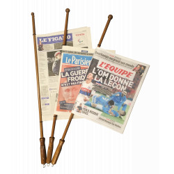 Baguettes à journaux